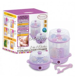 Autumnz 2 In 1 Steriliser & Food Steamer (Lilac)