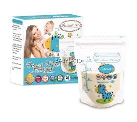 Autumnz Breastmilk Storage Bag 5oz (28pcs) *BUY 2 GET 20% OFF*