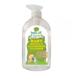 Bacoff Baby Bottle And Accessories Cleanser (500Ml)