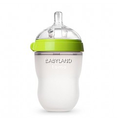 Comotomo Baby Bottle 250Ml 3M+ (Green)
