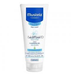 Mustela 2 In 1 Cleansing Gel (200ml)