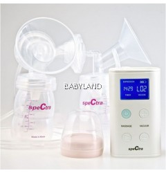 Spectra 9 Plus Double Electric Breast Pump *FREE Bumble Bee PP Breastmilk Bottles (2x10 bottles)