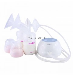 Spectra M1 Double Electric Breast Pump *FREE 2 x Malish Milk Bag Clamps*