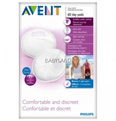 Philip Avent Disposable Breast Pads (60Pcs)