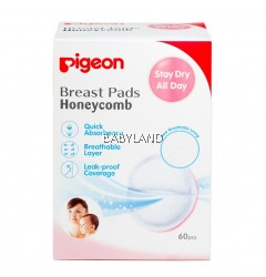 Pigeon Breast Pad Honeycomb (60Pcs)