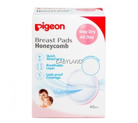 Pigeon Breast Pads Honeycomb (60pcs)