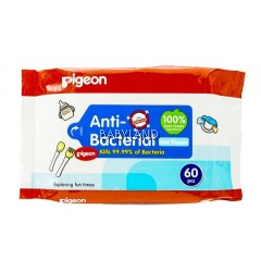 Pigeon Anti Bacteria Wet Tissue (60Pcs)