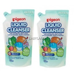 Pigeon Liquid Cleanser Refill (650ml x 2)