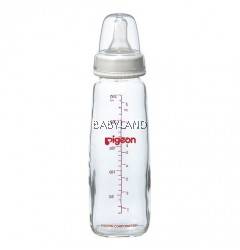 Pigeon Glass Bottle Slim Neck (240ml)