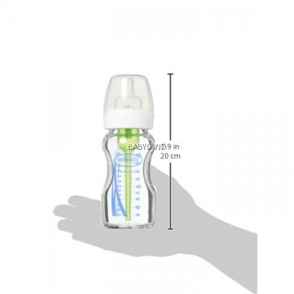 Dr. Brown's Options Glass Wide Neck Bottle (270ml)