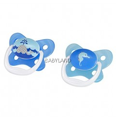 Dr.Brown'S Prevent Butterfly 0-6M (Blue)