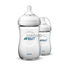Philips Avent Natural Baby Bottle 1M+ 9oz/260ml (2Pcs)