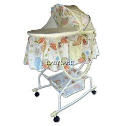 Bumble Bee Bassinet Bed (Beige)