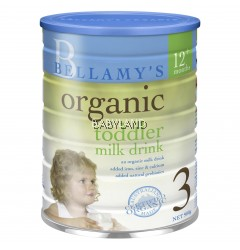 Bellamy's Organic Toddler Milk Drink 12m+ (Step 3)