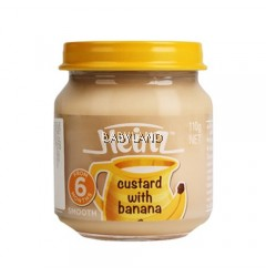 Heinz Custard with Banana 6m+  (110g)