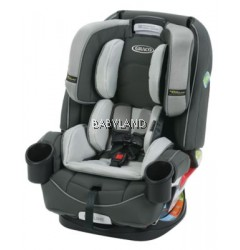 Graco 4Ever™ 4-in-1 Car Seat featuring Safety Surround™ Side Impact Protection (Tone) *FREE SAFETY 1ST BACK SEAT PROTECTOR