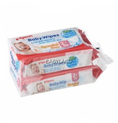Pigeon Baby Wipes 99% Pure Water (2 x 30pcs)
