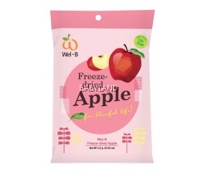 Wel.B Freeze Dried Apple (12g)