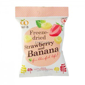 Wel.B Freeze-Dried Strawberry & Banana (14g) *BUY 2 GET 10% OFF*