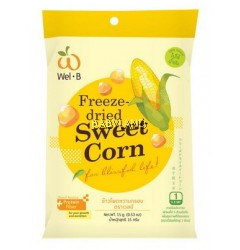 Wel.B Freeze Dried Sweet Corn (15g) *BUY 2 GET 10% OFF*