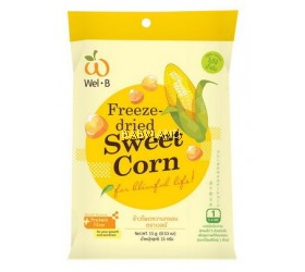 Wel.B Freeze Dried Sweet Corn (15g)