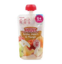 Heinz Apple, Peach & Mango 6M+ (120g)