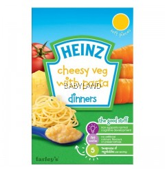 Heinz Cheesy Veg With Pasta 6M+ (100g)