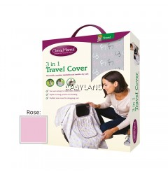 Clevamama 3 In 1 Travel Cover (Rose)