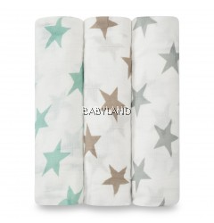 Aden + Anais Silky Soft Swaddle - Milky Way (3 pcs)