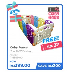 Coby Haus Fence Mix Colour Bear (8+2)