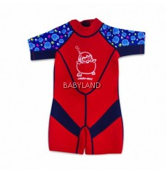 Cheekaboo Kiddies Suit Red Octopus (2-4yrs)