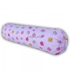 "Bumble Bee Bolster Case Spring Blossom Time Knit S (16""x⌀4"")"