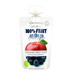 Clearspring On The Go Apple & Blueberry 120g