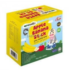 Natufoodies Apple Banana Stick 12m+ (50g)