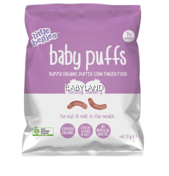 Little Bellies Baby Puffs Bursting Blueberry 7M+ (12g)