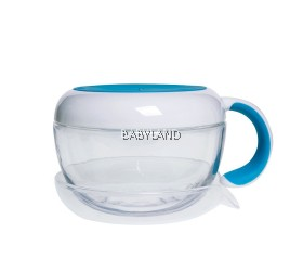 Oxo Tot Flippy Snack Cup With Travel Cover Aqua 12M+ (8oz/235ml)