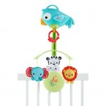 Fisher-Price Rainforest Friends 3-in-1 Musical Mobile (0M+)