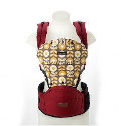 Akarana Tauawhi Hipseat Carrier Simple Fit (Rose Red)