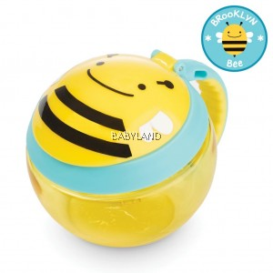 Skip Hop Zoo Snack Cup - Bee (7.5oz/222ml)