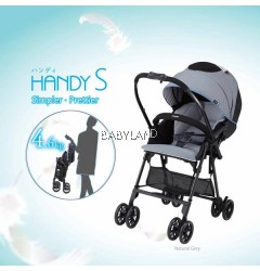 Combi Mechacal Handy S Stroller (Grey)