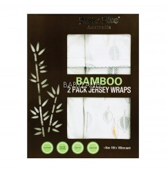 Bubba Blue Bamboo Leaf 2 Pack Jersey Wraps