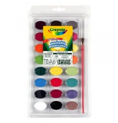Crayola Washable Watercolors (24 Count)
