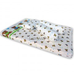 Bumble Bee Travel Mattress Set Knit (Love)