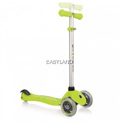 Globber Primo Starlight Lime Green (2-6yrs)