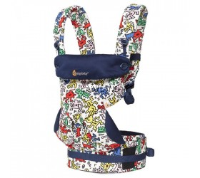 Ergobaby 4 Positions Baby Carrier Special Edition (Keith Haring - Pop)