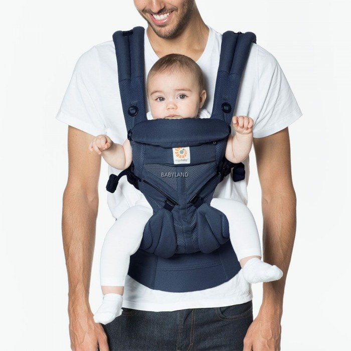 38add95273e Ergobaby Omni 360 Baby Carrier All-In-One Cool Air Mesh (Midinight Blue).  10% off
