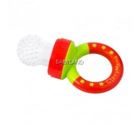 ClevaMama ClevaFeed Silicone Baby Feeder with Travel Cover