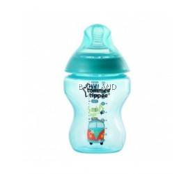 Tommee Tippee Closer To Nature Decorated Bottle Jade Green (260ml)