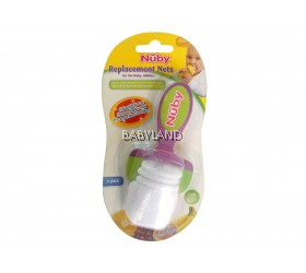 Nuby Replacement Nets for Nuby Nibbler (3pcs)