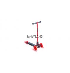 Yvolution Neon Glider by Vybe LED Kids Scooter (Red)